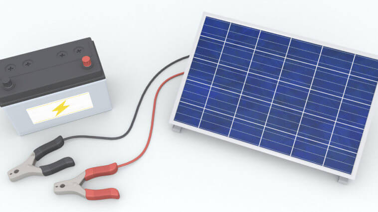Which Batteries Go With Solar Panels