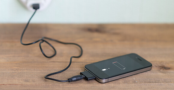 EnergixCharge Review - table phone