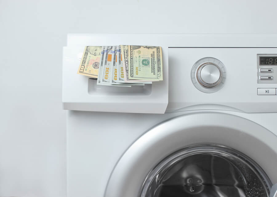Energy waste washing laundry money save