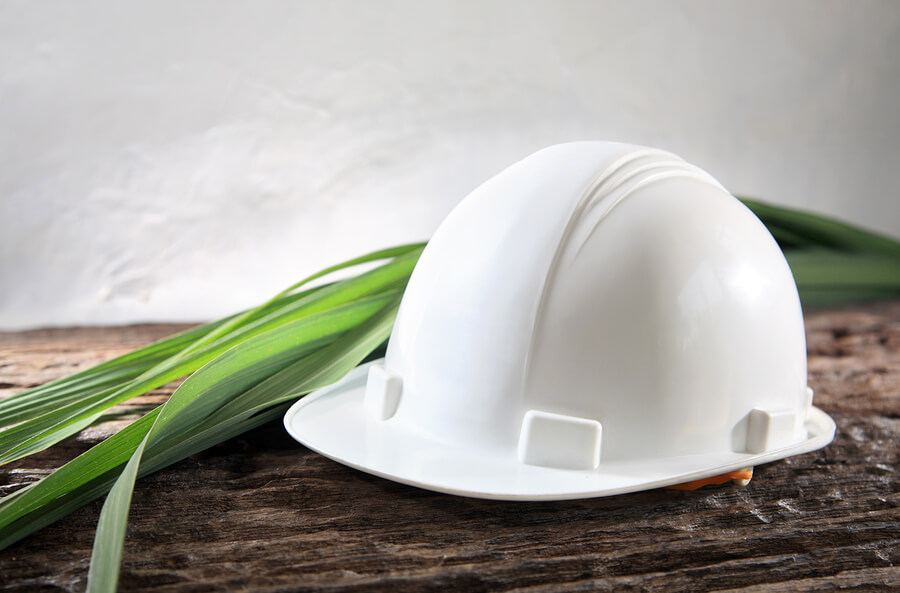Hard hat plant enviornmentally friendly work