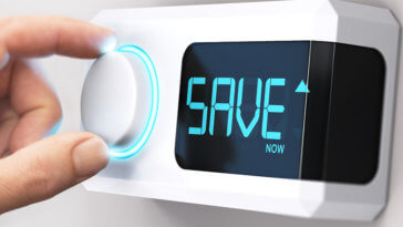 Adjust thermostat save money HVAC