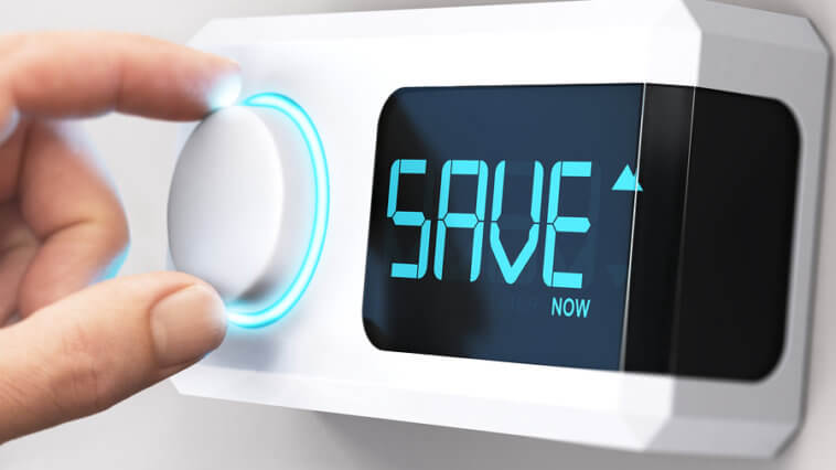 Adjust thermostat save money HVAC